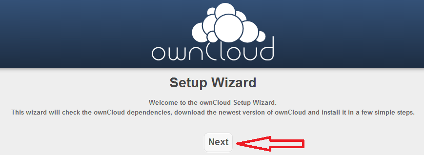 Owncloud installation tutorial 1