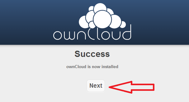 Owncloud installation tutorial 3