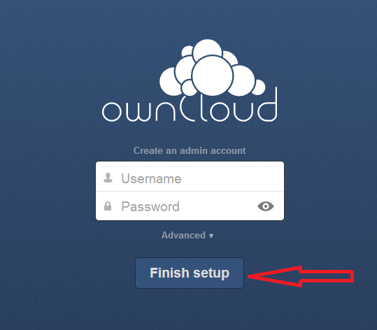 Owncloud installation tutorial 4