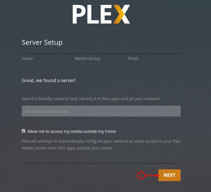 Shared seedbox plex configuration 2